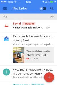 Inbox Google App