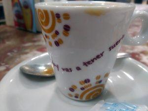 Café con Frase Motivadora