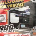 Mediamarkt se sube al carro de la Impresion3D