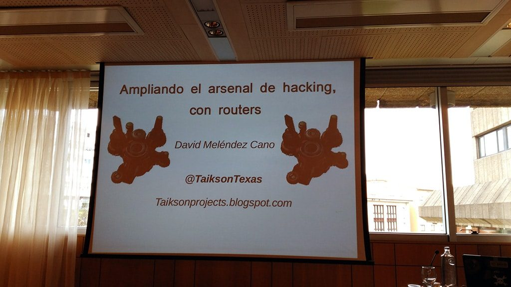 Hacking con Routers - Sh3llcon 2017