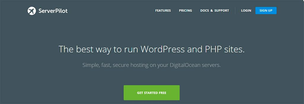Hosting Optimizado para WordPress – ServerPilot
