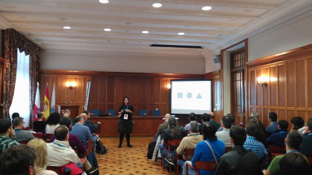 Ana Cirujano WordCamp Santander 2017
