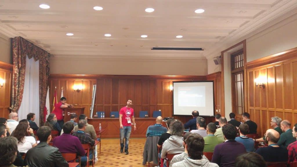 Tomás Sierra WordCamp Santander 2017