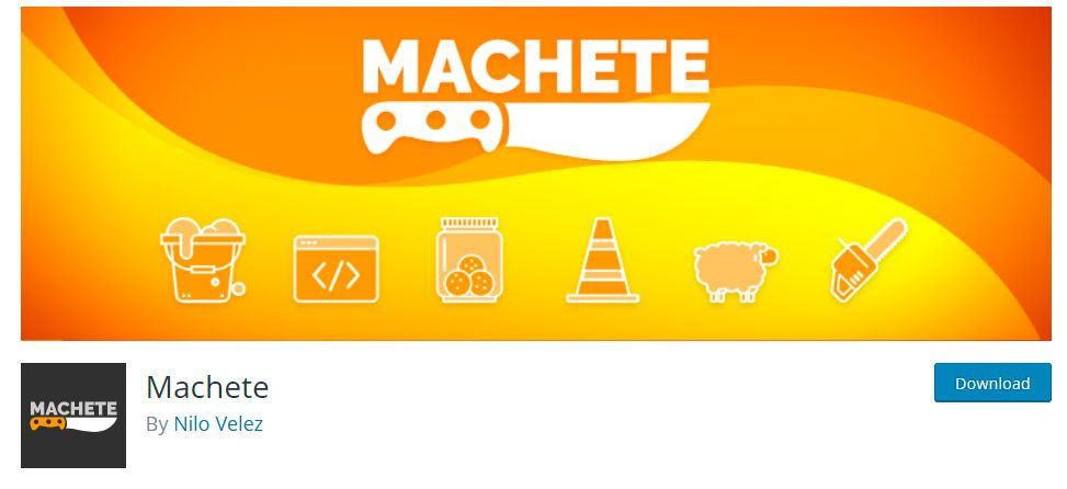 Machete Plugin WordPress