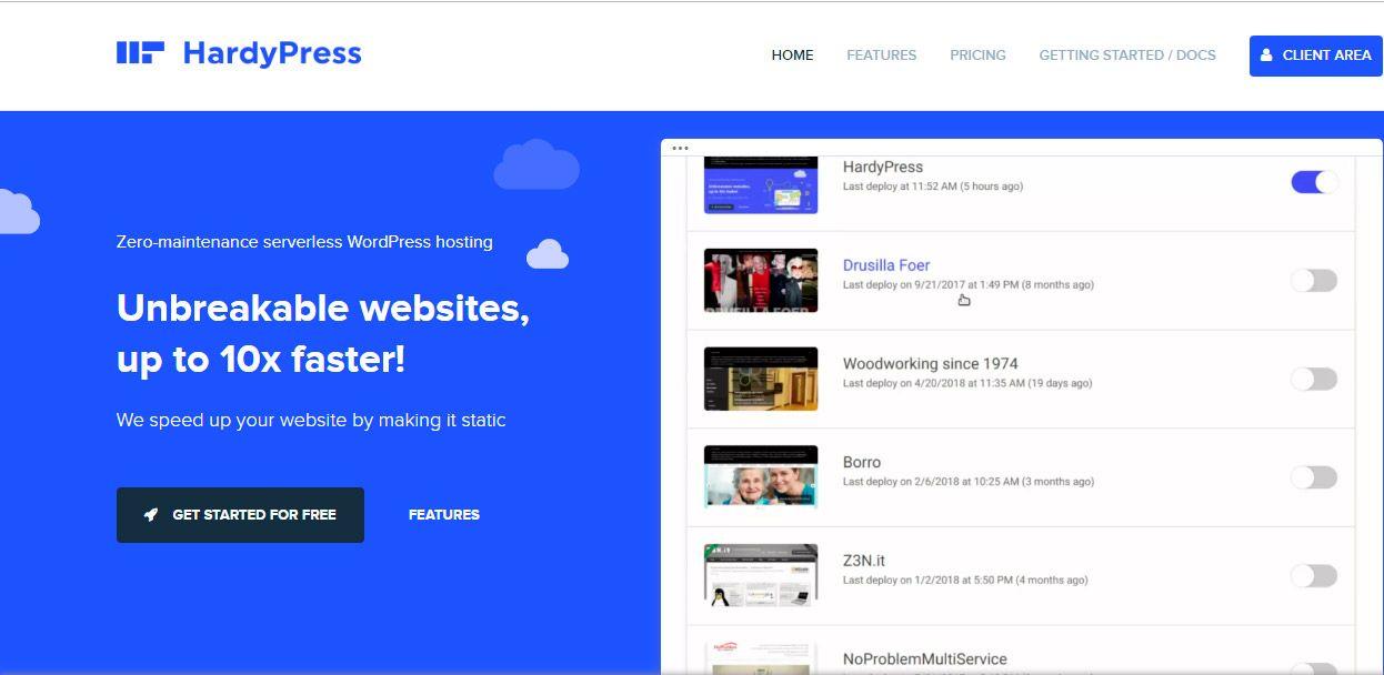 Convierte tu WordPress en estático con HardyPress