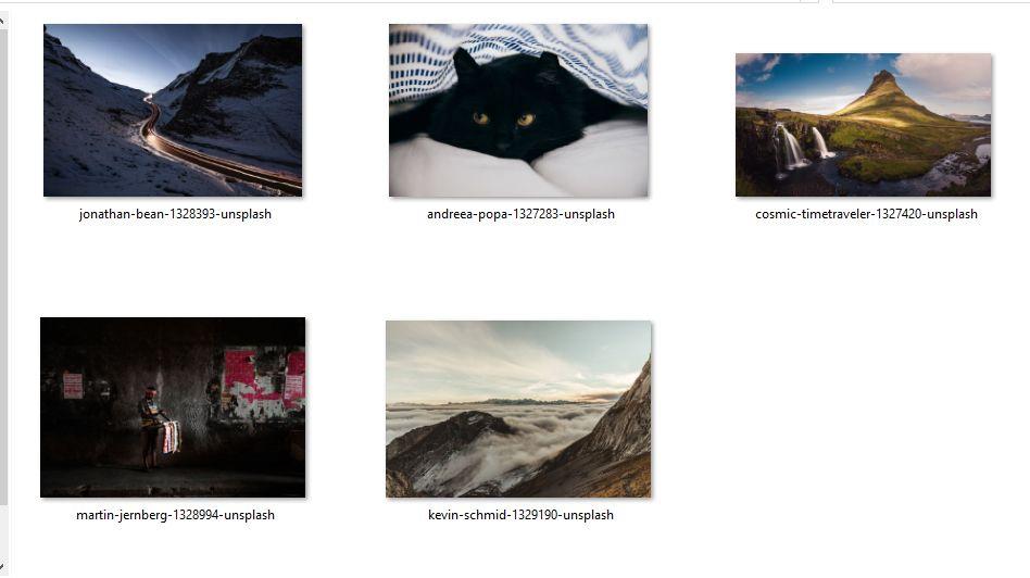 Fotos Pruebas plugins de compresión de imágenes de WordPress