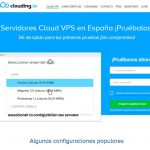 Hosting de WordPress en un VPS – Clouding.io