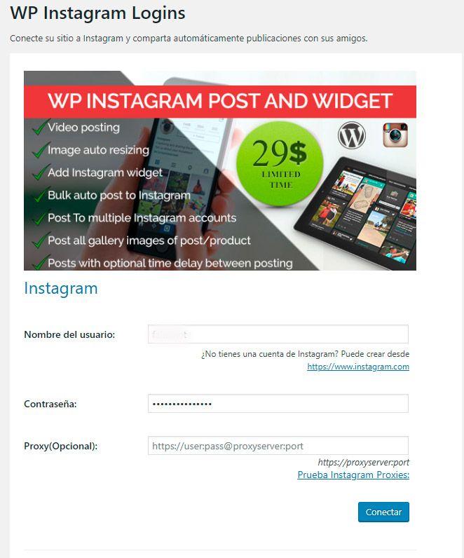 WP Instagram Post And Widget  logins