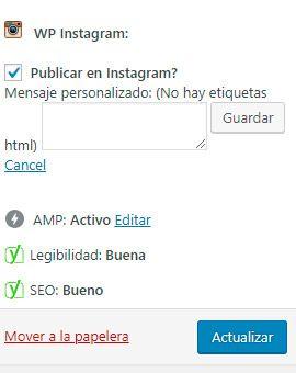 WP Instagram Post And Widget  publicación