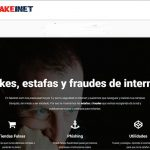Estafas en Intenet - Fakeinet.com