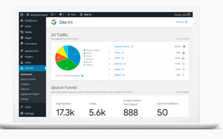 Google-Site-Kit-WordPress