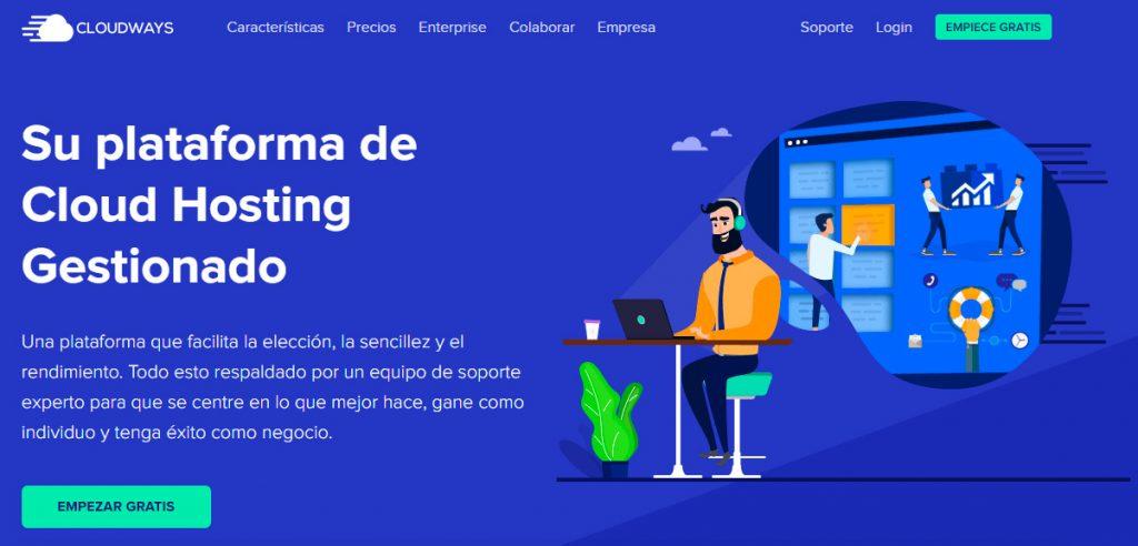 Cloudways - Hosting Optimizado WordPress
