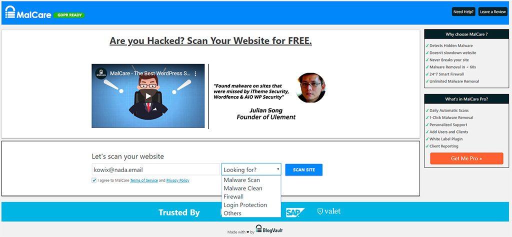 Malcare Security WordPress - Plugin seguridad antimalware