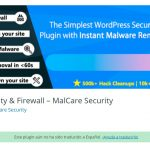 MalCare Security – Di adios al malware en WordPress