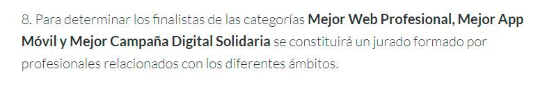 Novedades Premios Cantabria Digital 2019
