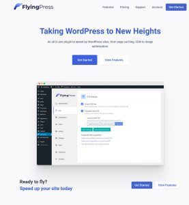 FlyingPress Plugin cache WordPress