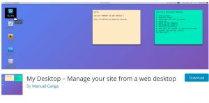 My Desktop - Plugin WordPress